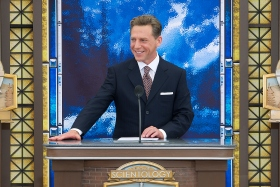 Mr. David Miscavige, Chairman of the Board Religious Technology Center and ecclesiastical leader of the Scientology religion, dedicated the new Church, which will serve Scientologists and the city and county of Denver.